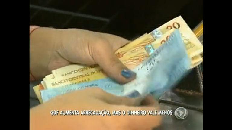 Governo arrecada R$ 8 bilhões nos primeiro sete meses