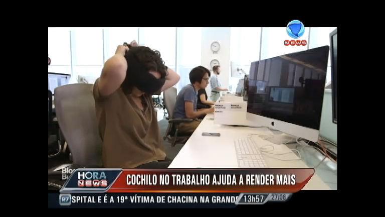 Jornalista testa acessórios que ajudam a tirar um cochilo durante o ...