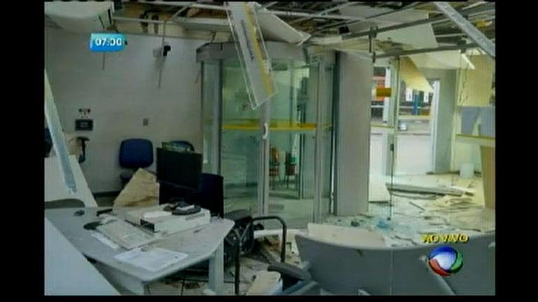 Mais uma agência atacada no interior da Bahia