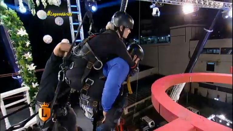 Juju e Felipe Franco encaram desafio nas alturas por sonho da lua ...
