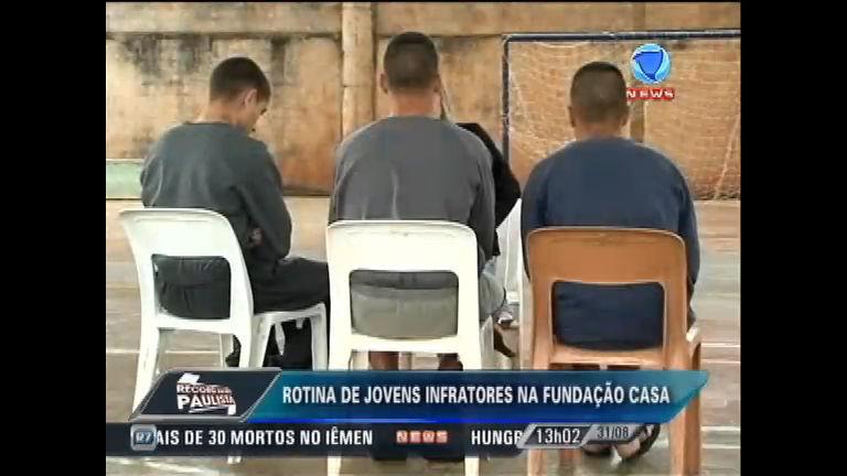Saiba como é a rotina dos jovens da Fundação Casa de Ribeirão ...