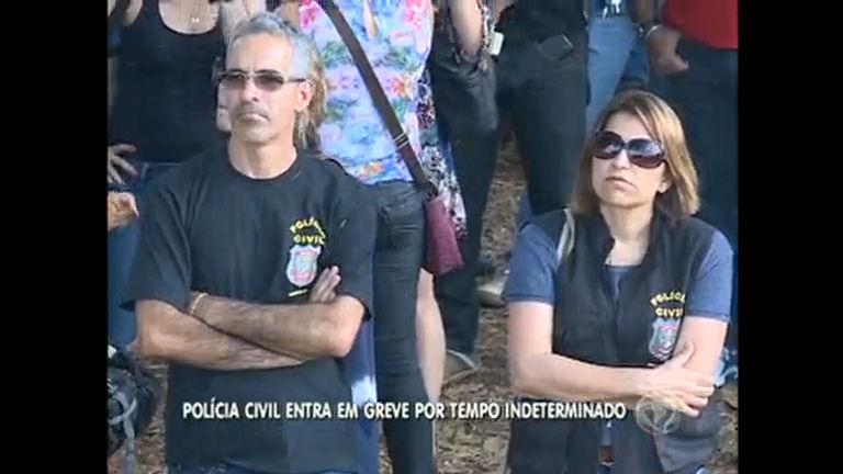Policiais Civis do DF entram em greve por tempo indeterminado