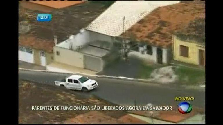Momentos de tensão durante sequestro na Bahia - Bahia - R7 ...