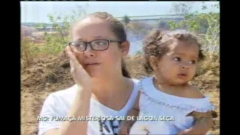Fumaça em lagoa seca intriga moradores - Minas Gerais - R7 MG ...