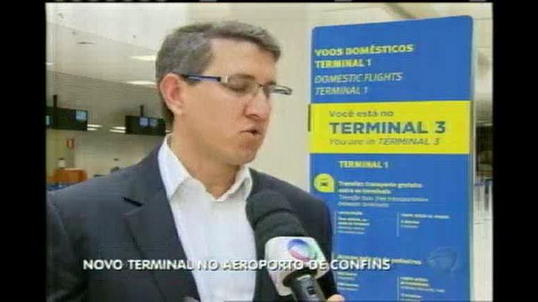 Novo terminal do Aeroporto de Confins está pronto - Minas Gerais ...