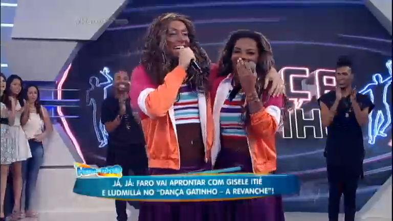 É hoje! Faro vira Ludmilla e se apresenta com a cantora na volta do ...