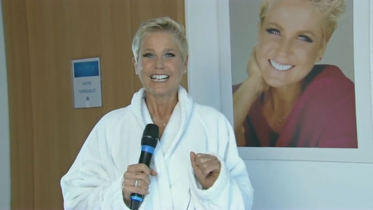 Está chegando a hora: Ivete Sangalo anima o programa da Xuxa ...
