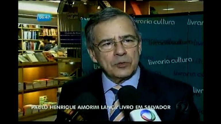 Paulo Henrique Amorim lança livro em Salvador