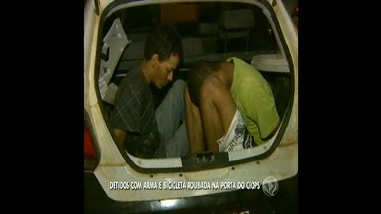 Polícia prende homens armados na porta do CIOPS