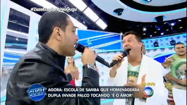 Escola de samba que homenageará Zezé e Luciano toca É o Amor ...