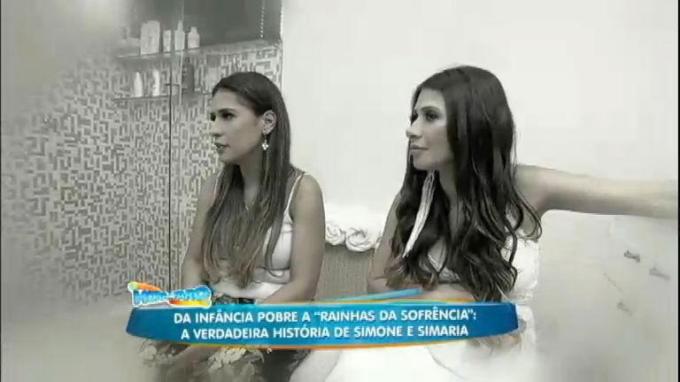 Rodrigo Faro visita a casa de Simone e Simaria em Fortaleza ...