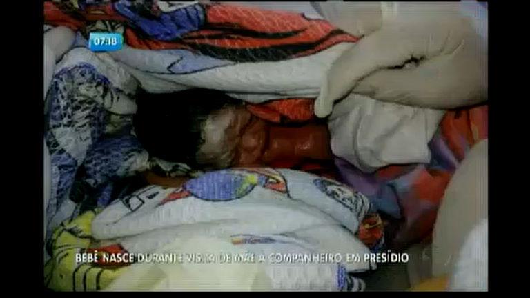 Bebê nasce durante visita de mãe ao companheiro em presídio ...