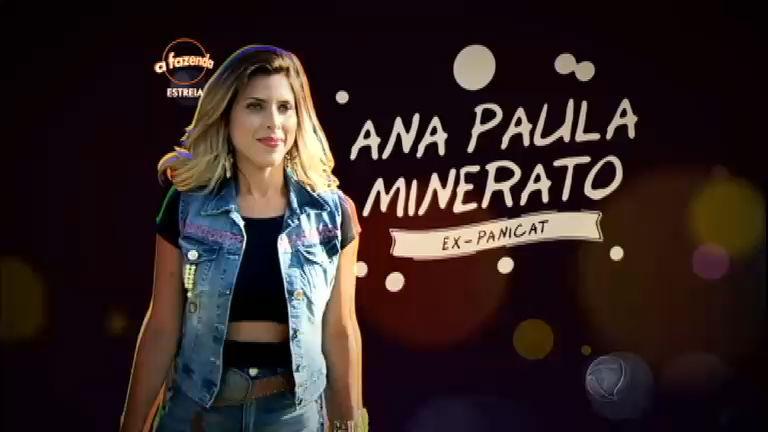 """Ex- panicat, Ana Paula Minerato mostra confiança: """"Tenho muito ..."""