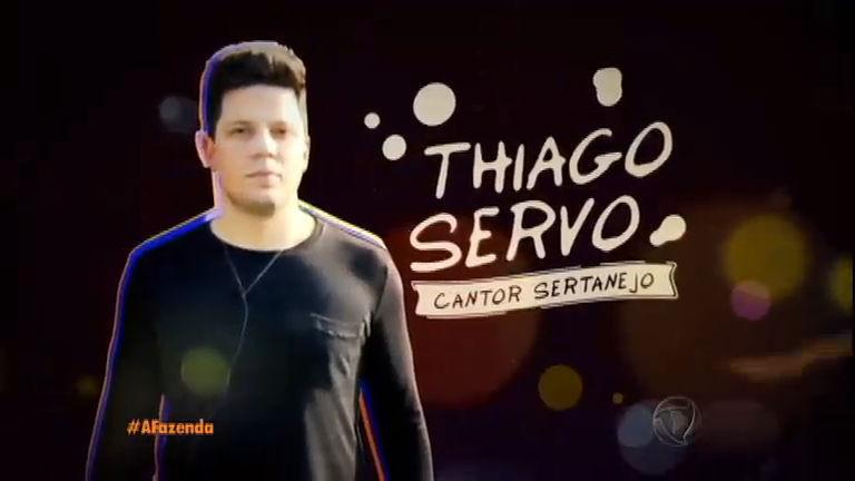"""""""O céu é o limite"""", promete o sertanejo Thiago Servo - A Fazenda ..."""