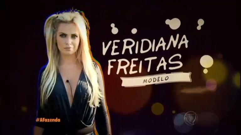 """""""Se não for para causar fico em casa dormindo"""", brinca Veridiana Freitas"""