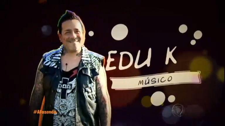"""""""Eu sou um provocador"""", avisa o cantor Edu K"""