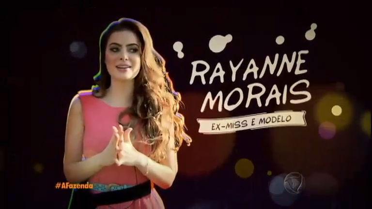 """Rayanne Morais chega determinada à Fazenda: """"gosto de ir até o meu limite"""""""