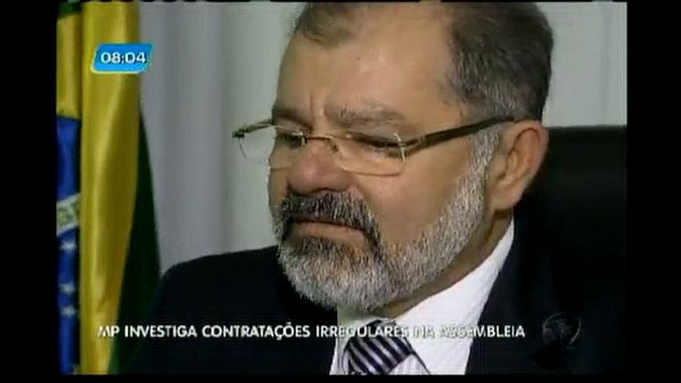 MP investiga contratações irregulares na Assembléia - Bahia - R7 ...
