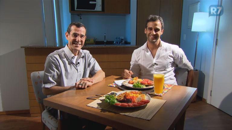Ator Rafael Sardão fala de hábitos alimentares saudáveis