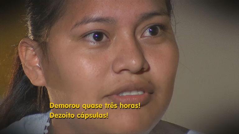 Repórter Record Investigação revela o sofrimento de mulheres presas por tráfico