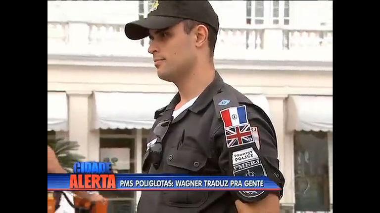 Policiais estão aprendendo idiomas para atuarem durante as Olimpíadas