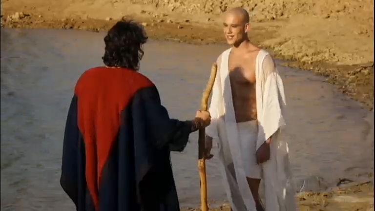 Ramsés não dá ouvidos ao libertador e ameaça a princesa