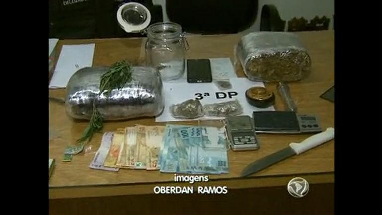 Traficante é preso com droga avaliada em quase R$ 500 mil ...
