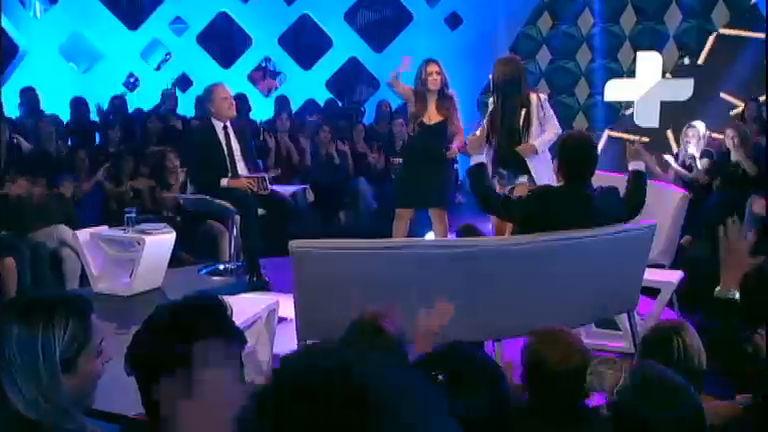 Simone e Simaria cantam e encantam o Roberto Justus + ...