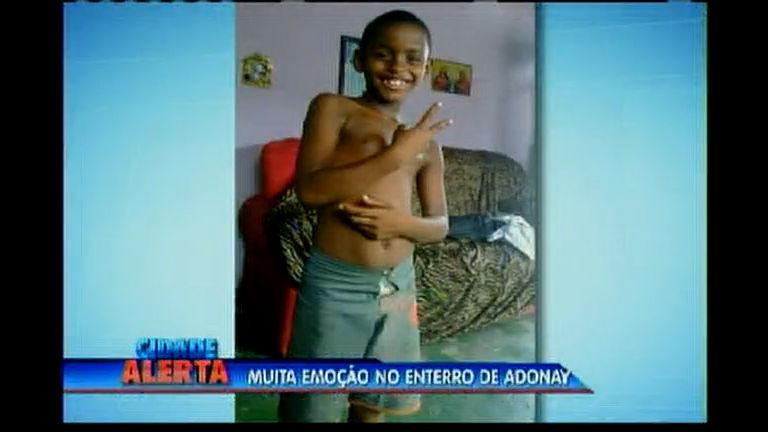 Muita emoção no enterro de Adonay - Bahia - R7 Cidade Alerta BA