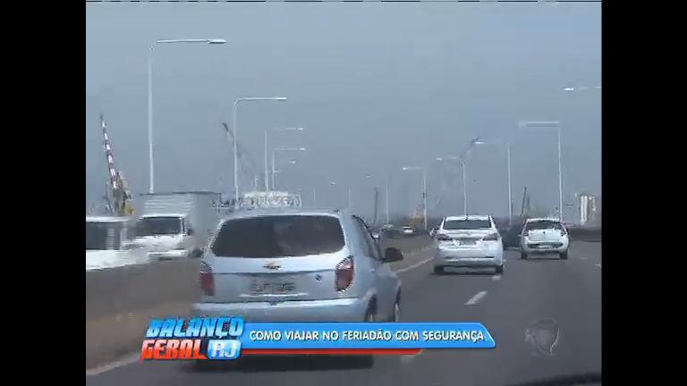 Feriadão: esquema de segurança especial nas estradas - Rio de ...