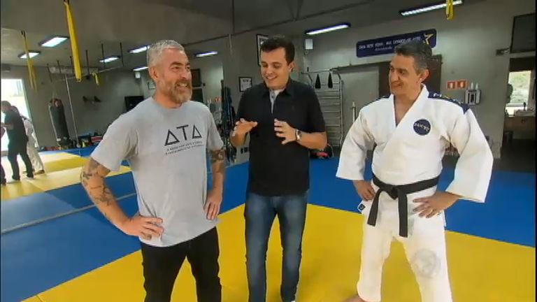 Alex Atala mostra suas habilidades no tatame - Esportes - R7 ...