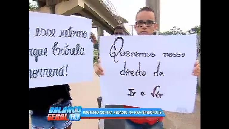 Moradores de Magé reclamam que pedágio tira o direito de ir e vir ...