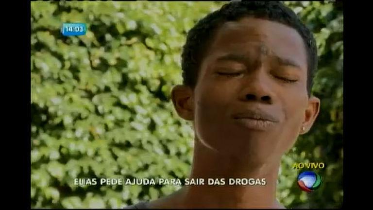 Desesperado, viciado em drogas pede ajuda - Bahia - R7 Balanço ...