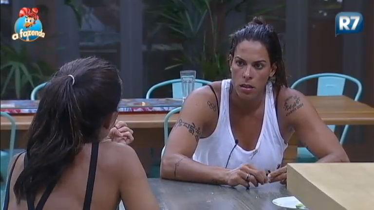 Irritada com punição Rebeca revela seu próximo voto para Roça - A ...