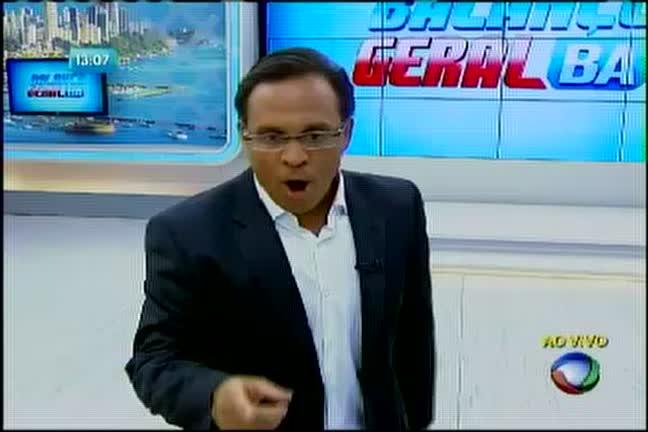 Presos confinados em pavilhão de presídio - Bahia - R7 Balanço ...
