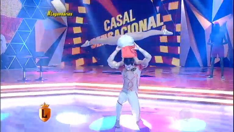 Casal Sensacional agita o palco do Legendários - Entretenimento ...