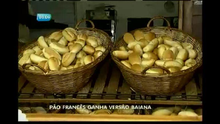 Pão francês ganha versão baiana