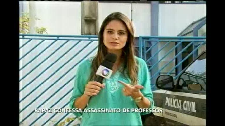 Garoto de programa confessa assassinato de professor
