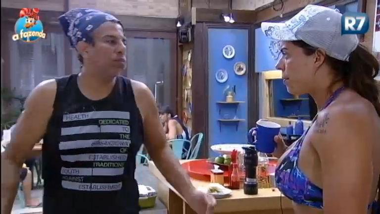 Chumbo trocado: Luka diz para Rebeca que vai votar em Marcelo