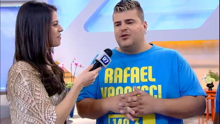 Intervalo: Rafael Vannucci fala sobre carinho do público durante ...