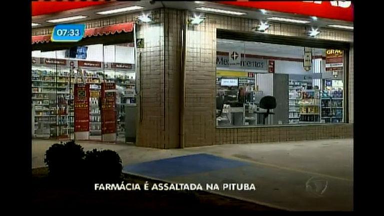Farmácia é assaltada na Pituba