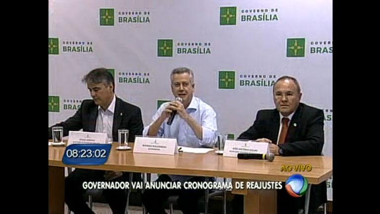 Rodrigo Rollemberg anuncia cronograma de pagamento do reajuste salarial