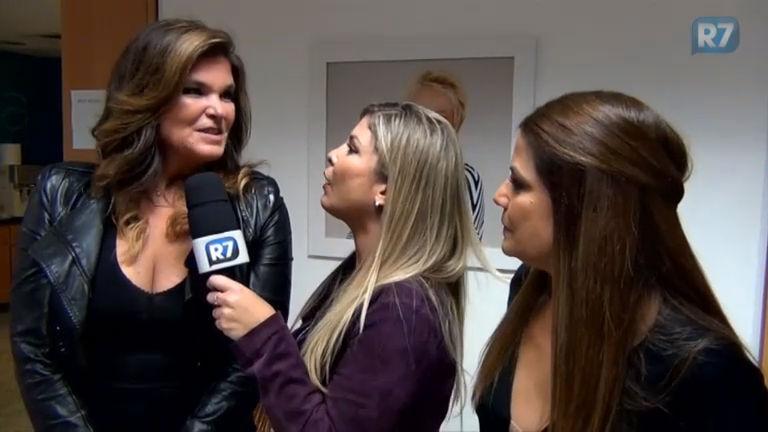 Pronta para ser vilã, Cristiana Oliveira diz que Nívea Stelmann será ...