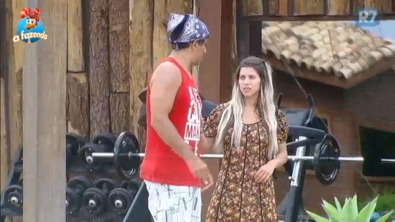 """""""Tu acertou em cheio"""", elogia Luka a Ana Paula pela indicação nas tarefas"""