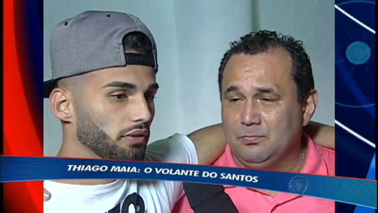 Revelação do Santos, Thiago Maia morou em motel e foi dispensado do Corinthians