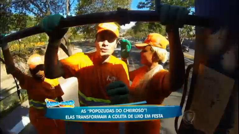 Faro passa um dia com as coletoras de lixo funkeiras de BH, as ...