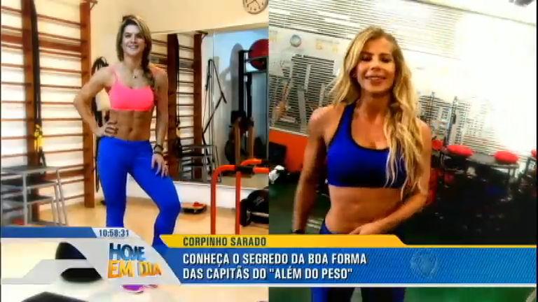 Veja como é o treino e a alimentação de Mirella Santos e Karina ...