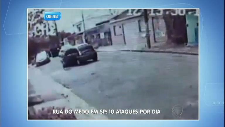 Furtos, assaltos e sequestros: rua da zona oeste (SP) tem 10 ...
