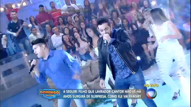 Henrique e Diego cantam sucessos e animam o Domingo Show ...