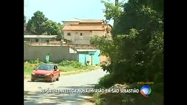Invasão é descoberta em São Sebastião - Distrito Federal - R7 ...
